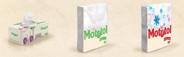 Șervețele Mototol - Rom Paper