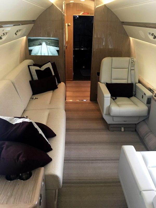 Gulfstream G550 - interior 2